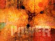 Interpretation Mixed Media Prints - Hidden Power Artwork Print by Lutz Baar