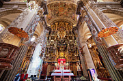 Interior Scene Photo Prints - High Altar in Seville Cathedral Print by Artur Bogacki