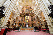 Christian Sacred Metal Prints - High Altar of Cordoba Cathedral Metal Print by Artur Bogacki