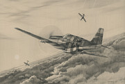 War Drawings - High-Angle Snapshot by Wade Meyers