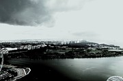 Cumulus Prints - High Contrast Singapore Storm Print by Greg Cross