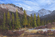 Park Scene Originals - High Country Fall by Bev Finger