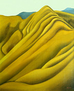 Aotearoa Paintings - High Country The Brocket by Patricia Howitt