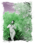 Dry Lake Digital Art - High Desert Goddess by Ken Evans