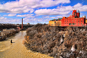 Gerald Salamone - High Falls area from the...