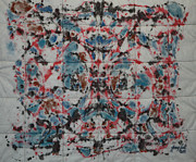 Energy Tapestries - Textiles - High Frequency by Jymmy Forest
