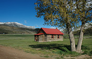 Log Cabin Photos - High Lonesome Ranch by Jerry McElroy