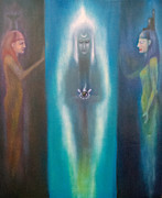Strength Paintings - High Priestess by Roger Williamson