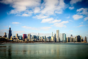 Urban Buildings Framed Prints - High Resolution Large Photo of Chicago Skyline Framed Print by Paul Velgos