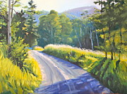 Piedmont Paintings - High Road by Brenda Sumpter