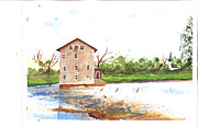 Robert  ARTSYBOB Havens - High Shoals Mill
