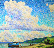 Shores Pastels - High sky by Aleksey Zuev