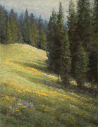 National Park Pastels - High Summer by Gary Huber