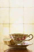 Vintage Teacup Prints - High Tea Print by Margie Hurwich