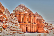 David Birchall - High Temple at Petra