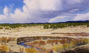 Front Range Painting Prints - High Valley Print by Greg Clibon