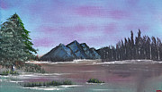 Salt Air Paintings - High Valley Lake by Jennifer Muller