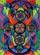 Geometric Painting Posters - Higher Purpose Poster by Teal Eye  Print Store