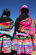Festivals - Highland Dress Peru by James Brunker