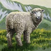 Crista Forest - Highland Ewe