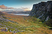 Wester Ross Prints - Highland pass Print by Gary Eason