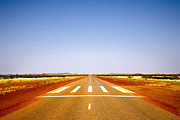 Runway Framed Prints - Highway 1 Western Australia Framed Print by Colin and Linda McKie