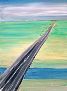 Long Street Paintings - Highway by Fabrizio Cassetta