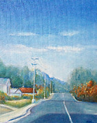 Residential Paintings - Highway to Heaven by Jane See