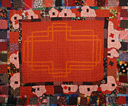 Quilt Tapestries - Textiles Originals - Hildegard by Nancy Mauerman