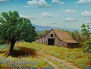 Gene Gregory - Hill country barn