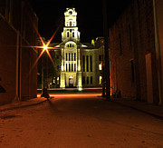 Ally Originals - Hill county courthouse  by James Watkins