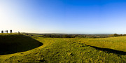 Hill Of Tara - Landscape Panorama Print by Mark E Tisdale