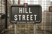 Belfast Cathedral Prints - Hill Street Print by Jim Orr
