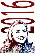 Hillary 2016 Print by Jost Houk