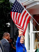 Hillary Clinton Print by Ed Weidman