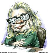 Hillaryvision Print by Taylor Jones