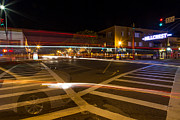 Crosswalk Photos - Hillcrest Neon Ghost by John Daly