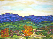 Kerry  Bennett - Hills in Fall