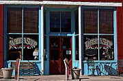 Hillsboro Prints - Hillsboro Barber Shop Cafe Print by Barbara Chichester