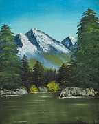 Hillside Pond Print by Dave Atkins