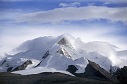 Slide Photographs Prints - Himalayan Peak - Tibet Print by Craig Lovell