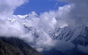 Asia Photo Prints - Himalayas Print by Anonymous