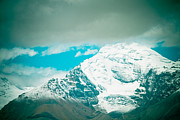 Tibet Framed Prints - Himalyas range closeup view from Tibet Framed Print by Raimond Klavins