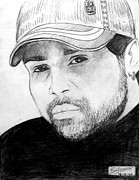 Hindi Painting Prints - Himesh Reshammiya Print by Salman Ravish