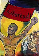 Slaves Paintings - Himno a la Libertad by Cindy MILLET