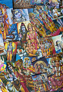 Hinduism Metal Prints - Hindu Deity Posters Metal Print by Tim Gainey
