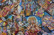 Indian Deities Metal Prints - Hindu Posters Metal Print by Tim Gainey