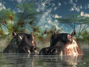Daniel Eskridge - Hippos Are Coming To Get You