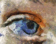 Eye Digital Art Prints - His EYE Print by Deborah MacQuarrie