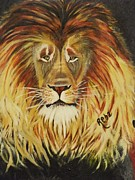 Pride Paintings - His Majesty by Reba Baptist
